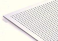 Звукопоглощающие перфорированные гипсовые плиты