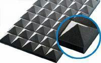 Звукопоглощающие плиты из пенополиуретана (акустический поролон)